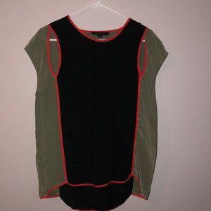 Alexander wang 100% silk blouse size s